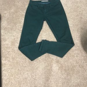 Chelsea and Violet Green Jeans
